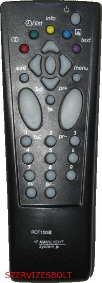 Thomson   RCT100 RCT 100 THOMSON távirányító